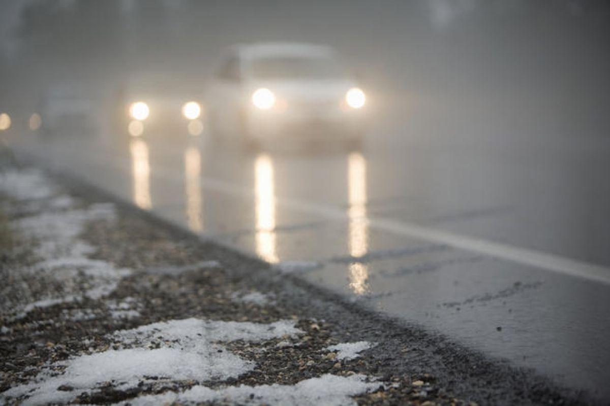 В Курской области снова обещают мокрый снег и гололедицу