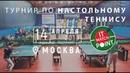 Турнир по настольному теннису «IT Match Point Moscow 2019»