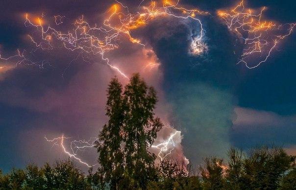 Потрясающие фотографии грозы