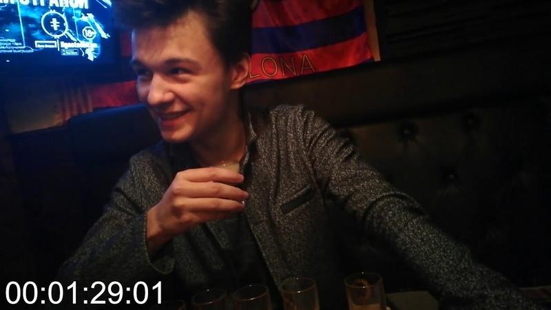 MEDVED выпивает 10 шотов или как мы День рождения Spyrus'а справляли