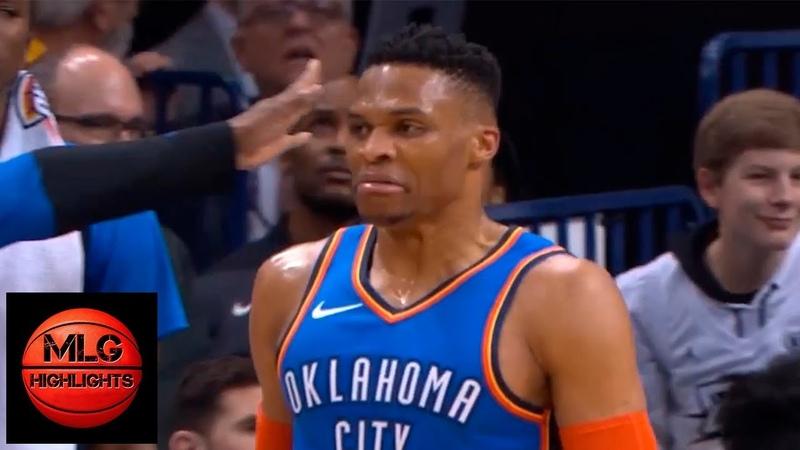 LA Lakers vs OKC Thunder 1st Half Highlights | 01/17/2019 NBA Season