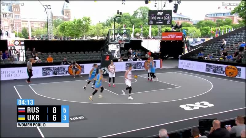 O. Frolkina (5 pts., 1 ast.), Russia v Ukraine, 3x3 World Cup 2019