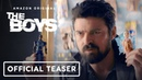Amazon's The Boys: Billy Butcher Tells Kids About Superheroes Official Teaser