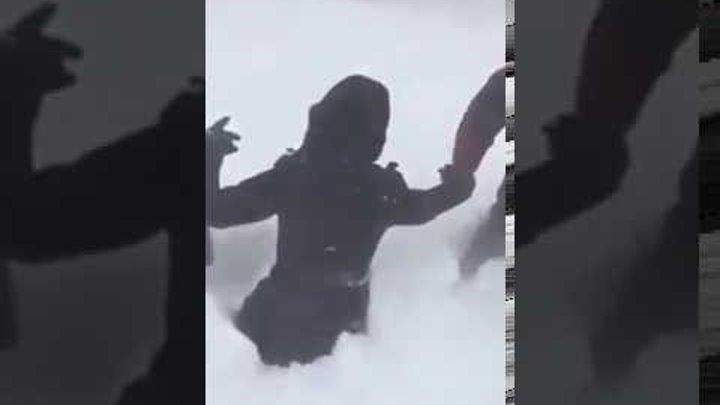 Жесть Сибирь завалило снегом snowfall in Siberia