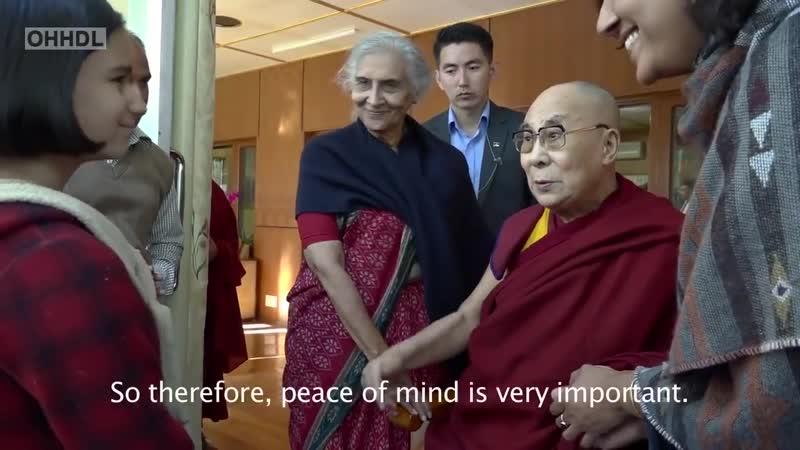 Далай лама Здоровый ум здоровое тело