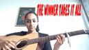 ABBA The Winner Takes It All Varshini Vijayakumar Acoustic Cover