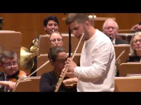 Ibert Flute Concerto - Matvey Demin