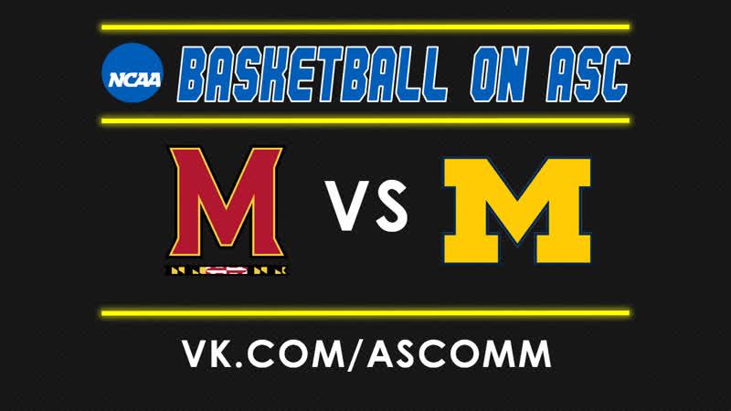 NCAAM   Maryland VS Michigan