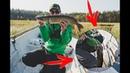 Ловля на утёнка спасла рыбалку Щука жрёт его и осенью Рыбалка нон стоп 4 дня День 2