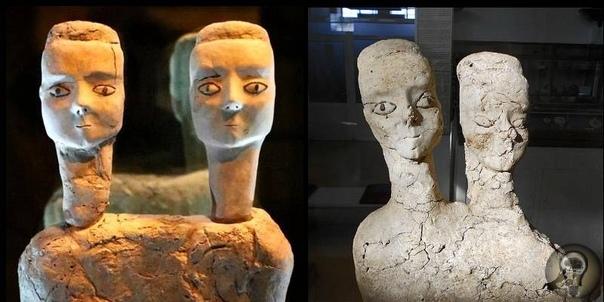 Мистические иорданские статуи эпохи раннего неолита