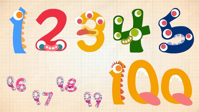 Endless Numbers Learn to Count from 1 to 100 Simple Addition With the Adorable Endless Monsters