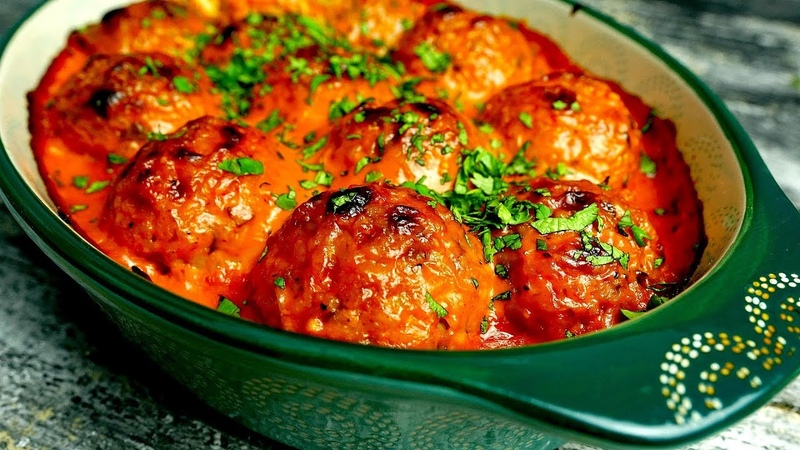 Meatless meatballs with incredible sauce