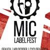 MIC LABEL FEST | 29.12 | МУЗЕЙ ЗВУКА