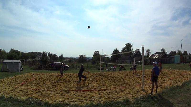 Игра 7 Пляжный волейбол - закрытие сезона микст Новосиль 2018/09/15