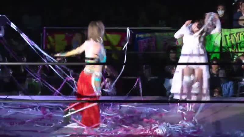 Mizuki Yuka Sakazaki c vs Reika Saiki Marika Kobashi TJPW Be Updated To The Future The Future The Future