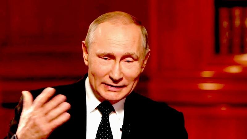 лицо Путина - творение рук человеческих