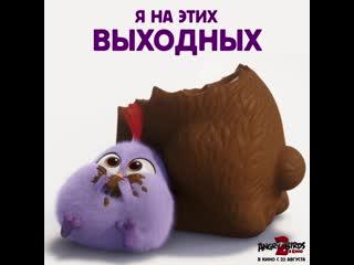 Angry birds 2 в кино - выходные