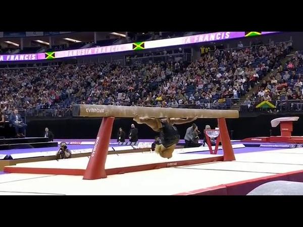 Danusia Francis 2019 Superstars of Gymnastics BB