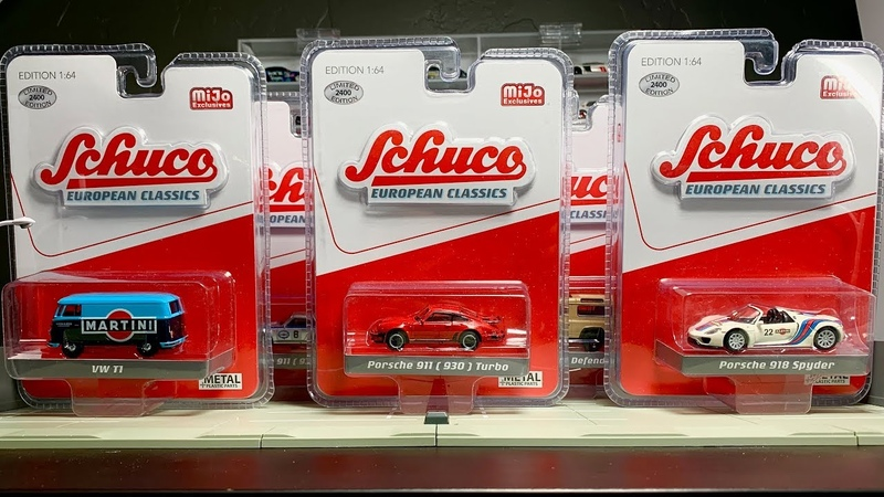 Lamley Preview: The beautiful 1/64 Euro Models by Schuco are coming to the US