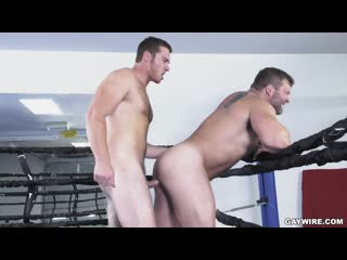 Hot gym bros fuck | connor maguire & colby jansen