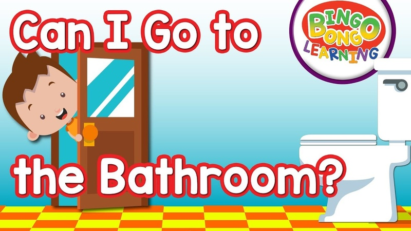 Can I Go to the Bathroom | Classroom English Song | BINGO BONGO ESLEFL