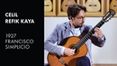 Loretta - Celil Refik Kaya plays 1927 Simplicio