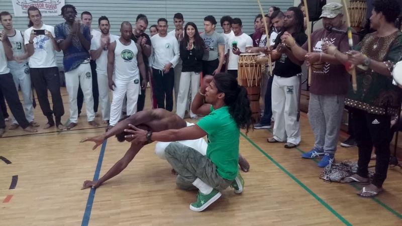 Capoeira Ie 2018! Gugu Quilombola e Cacique Massaranduba