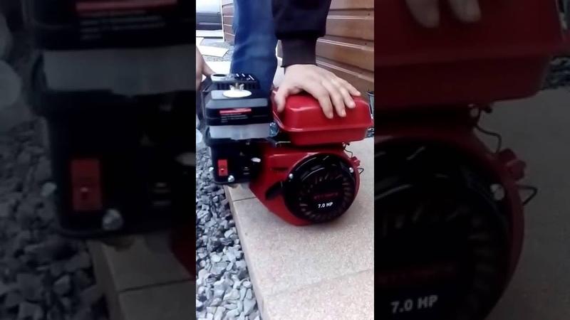 Правильно заводим двигатель WEIMA WM170F