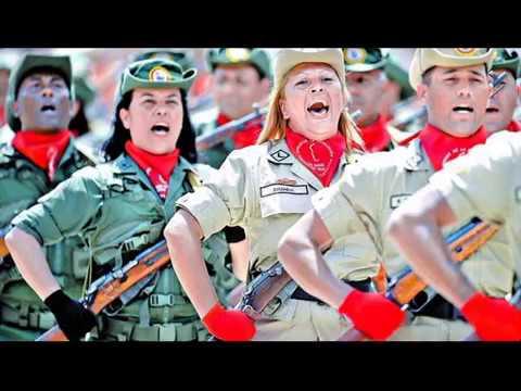 Marcha Epica de la MILICIA BOLIVARIANA - Lloviznando Cantos