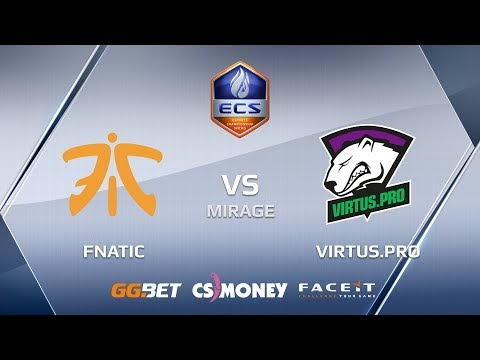 Fnatic vs VirtusPro ecs season 6 europe