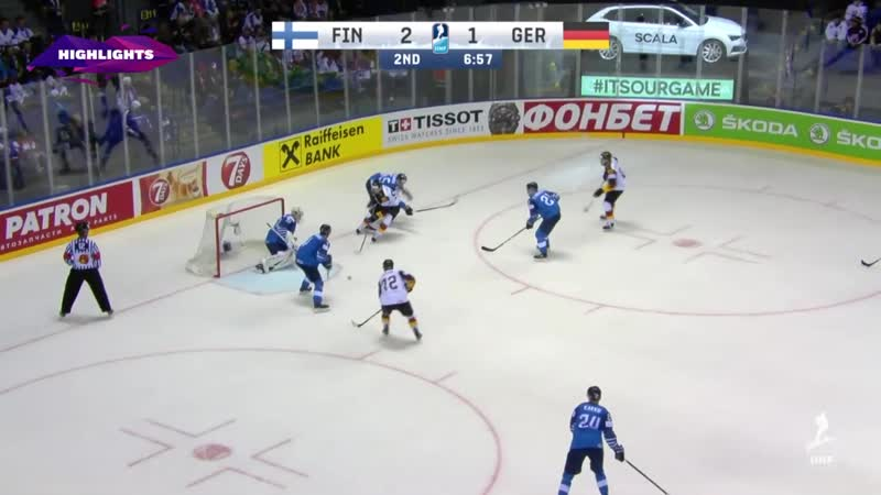 Finland vs Germany Game Highlights