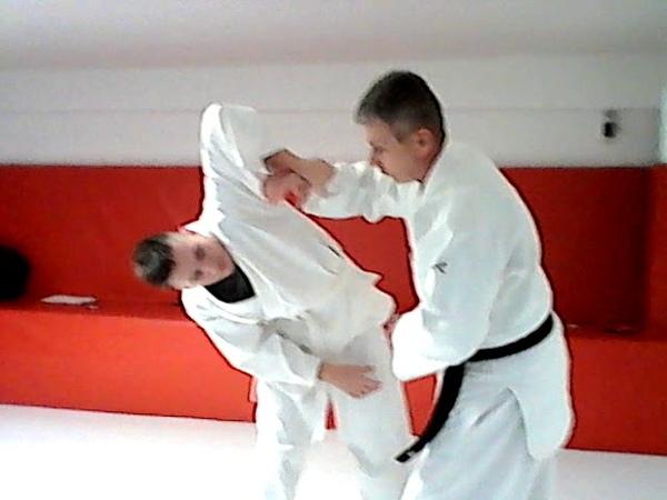 айки-агэ и айки-сагэ - секретные техники айкидо