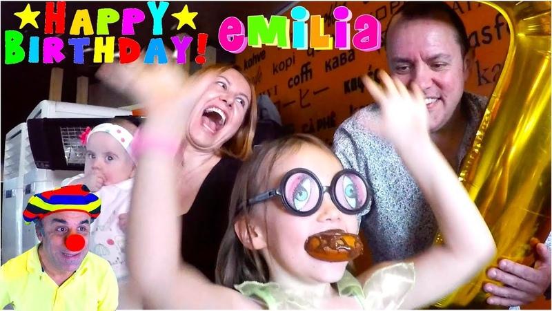 Palyaço Fiko Emilia'nın Doğum Gününde | Clown Fiko on Emilia's Birthday