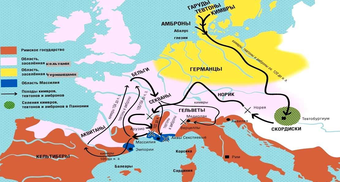 Кимврская война