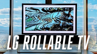 The LG rollable display is now a real 65-inch TV