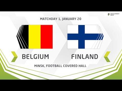 U17. Development Cup - 2019. Belgium - Finland