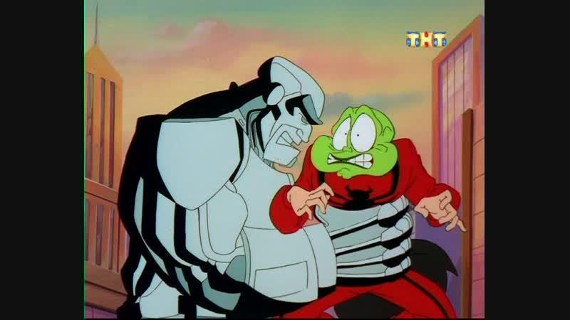 Маска 3 сезон 4 серия Они пришли изнутри The Mask 1997