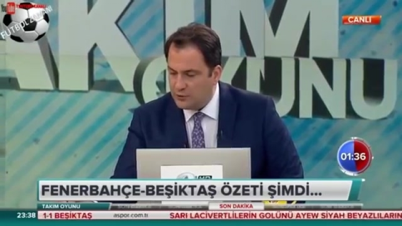 Takım Oyunu 24 Eylül 2018 TEK PARÇA Fenerbahçe 1 1 Beşiktaş
