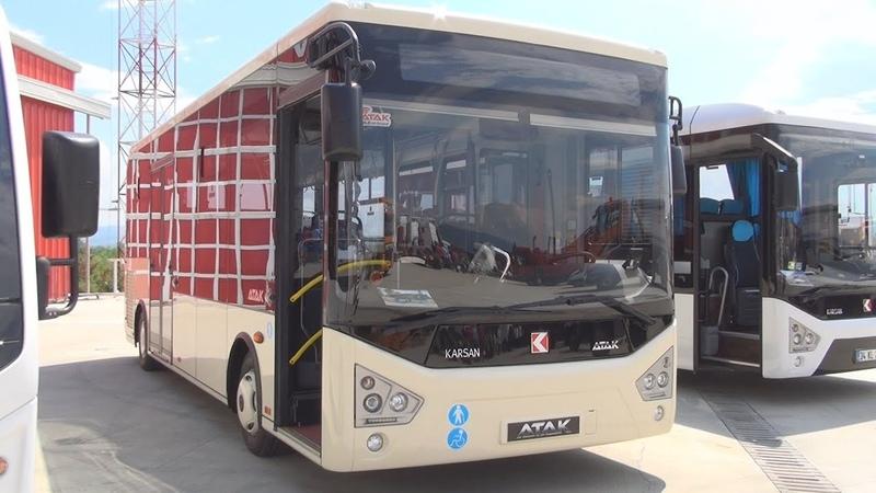 Karsan Atak Bus 2015 Exterior and Interior