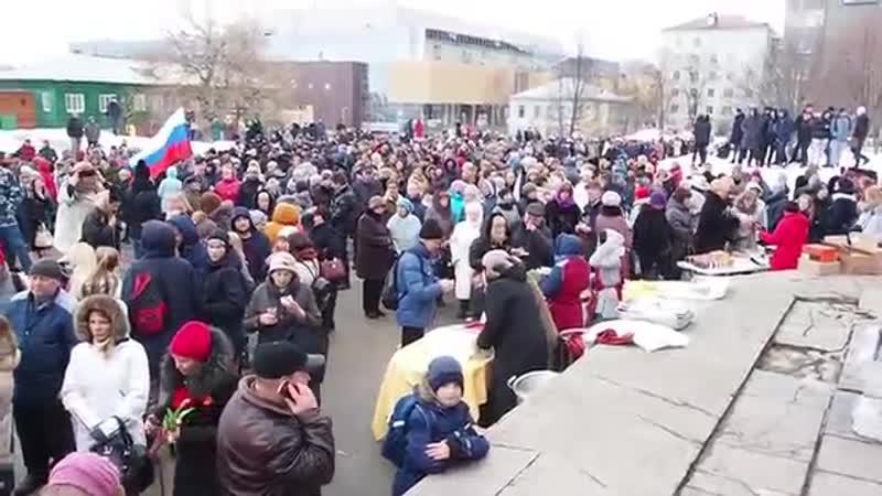 В Петрозаводске отметили Крымскую весну