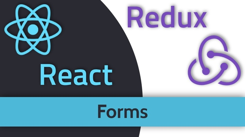 React Redux 10 Формы Forms