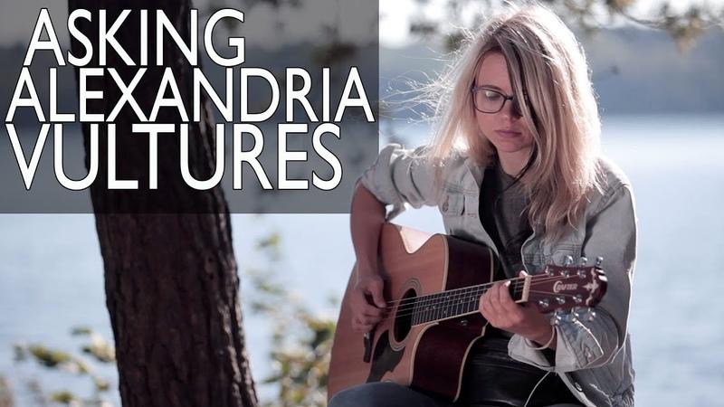 Как играть ASKING ALEXANDRIA - VULTURES (acoustic version) / Разбор cover COrus Guitar Guide 82