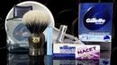 💈 Бритье Frank Shaving Gillette TECH 1965 Pereira Shavery Nacet Feather Artist DX