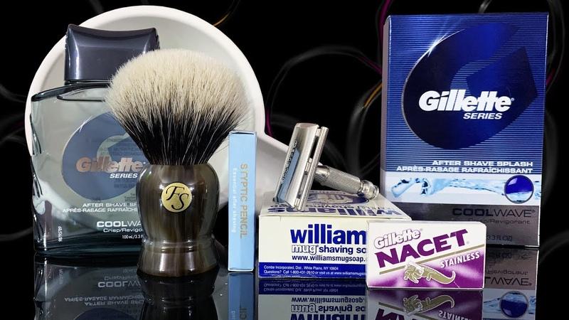 💈 Бритье Frank Shaving, Gillette TECH 1965, Pereira Shavery, Nacet, Feather Artist DX