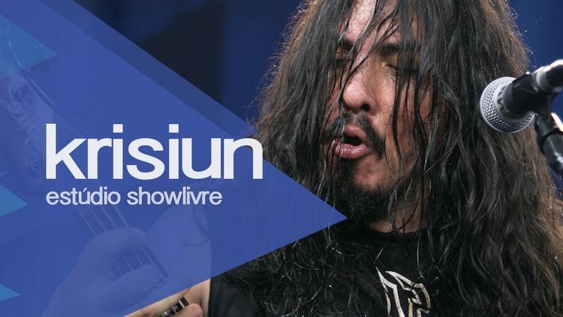 Ravager Krisiun no Estúdio Showlivre 2013