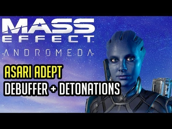 Asari Adept Platinum BUILD and GUIDE Mass Effect Andromeda Multiplayer