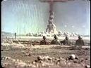 Взрыв атомной бомбы на полигоне в США