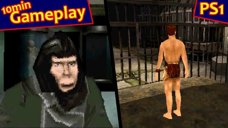 Planet of the Apes для Sony PlayStation 1 PS1