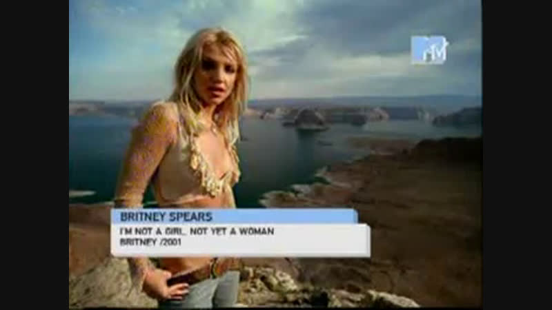 Britney spears - i'm not a girl,not yet a woman mtv ru