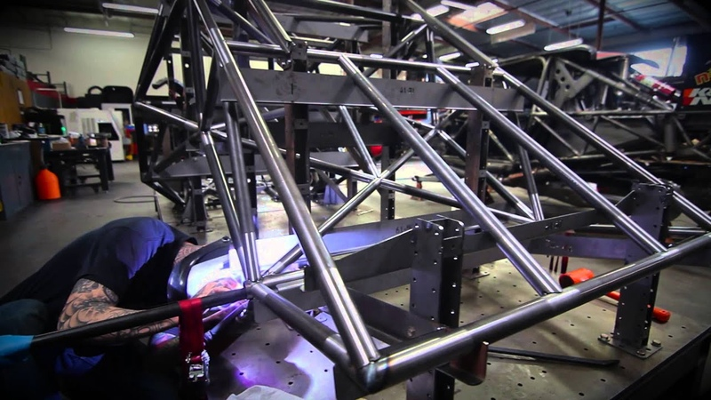 CAMBURG Trophy Truck 6100 chassis build